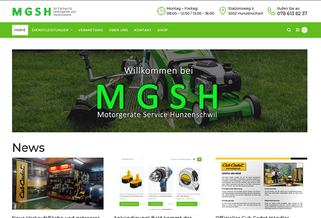 Neue Website ab 2019